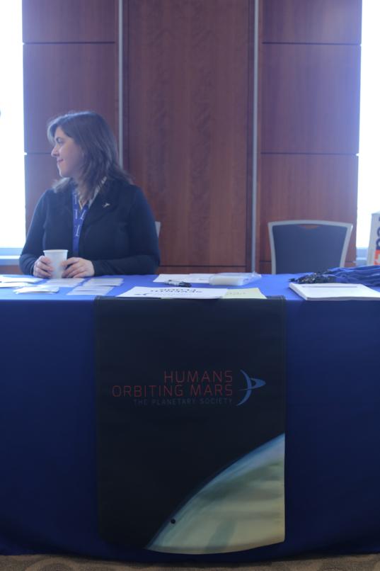 Humans Orbiting Mars workshop table