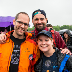 Casey Dreier and Attendees at the March for Science in Washington, D.C., April 22nd, 2017