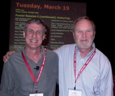 Steve Squryes and Ray Arvidson