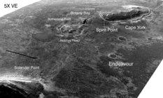Opportunity's trekking grounds