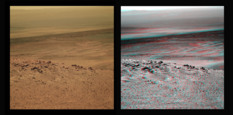 Opportunity's postcards from Nobby's Head
