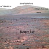 Opportunity View of Solander Point
