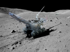 Lunokhod 2 on the Moon