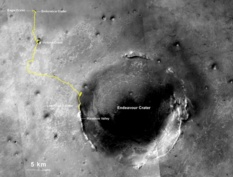 Opportunity's yellow brick road