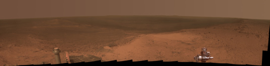 Cape Tribulation Panorama in Martiancolor