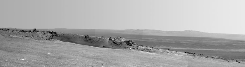 Opportunity arrives at Endeavour Crater