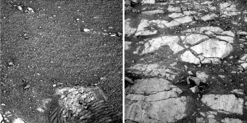 Soils, cobblestones, new clues?