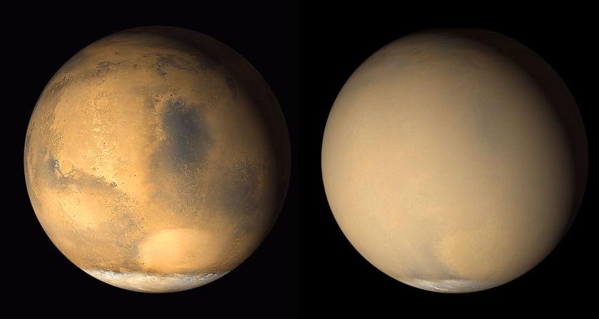 A dusty shade of Mars