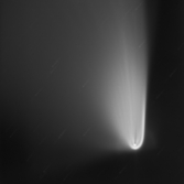 Close Up comet PanStarrs
