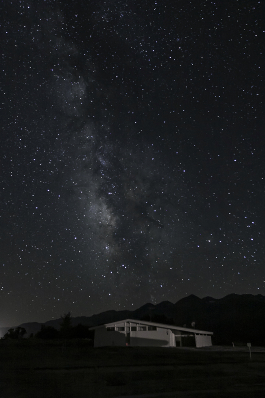 Milky Way Over Building 9