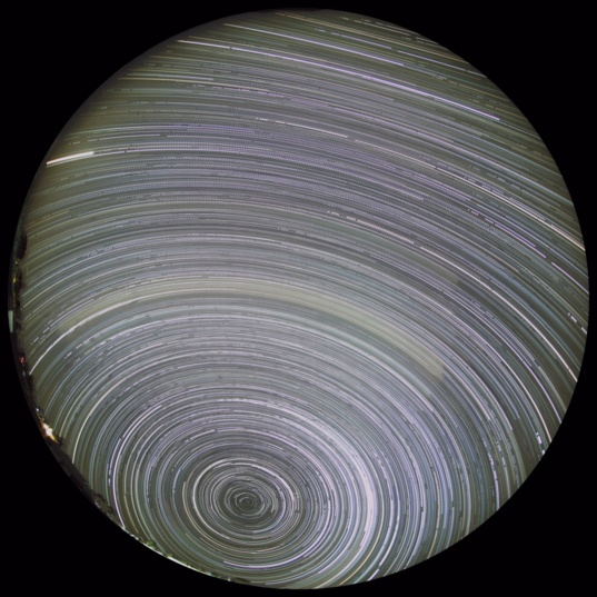 South Celestial Pole Star Trail