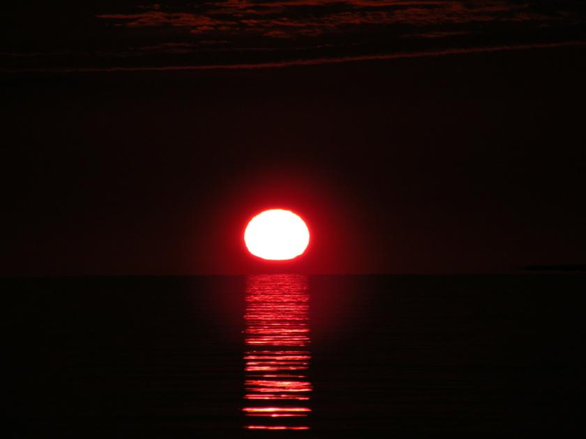 Otherworldly Sunrise