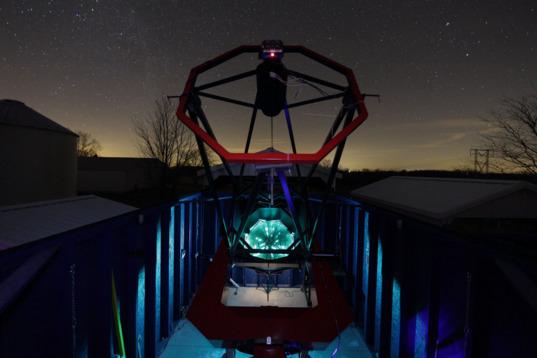 1.3-meter telescope at Astronomical Research Institute