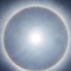 Amazing Sun Halo