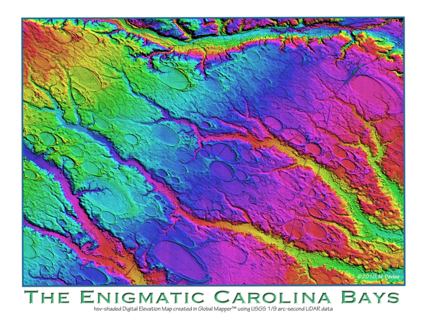 Enigmatic Carolina Bays