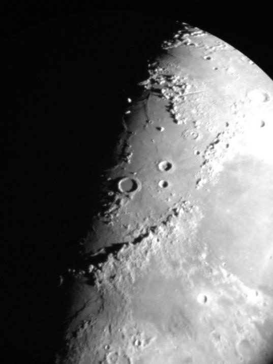 Lunar Terminator Glint
