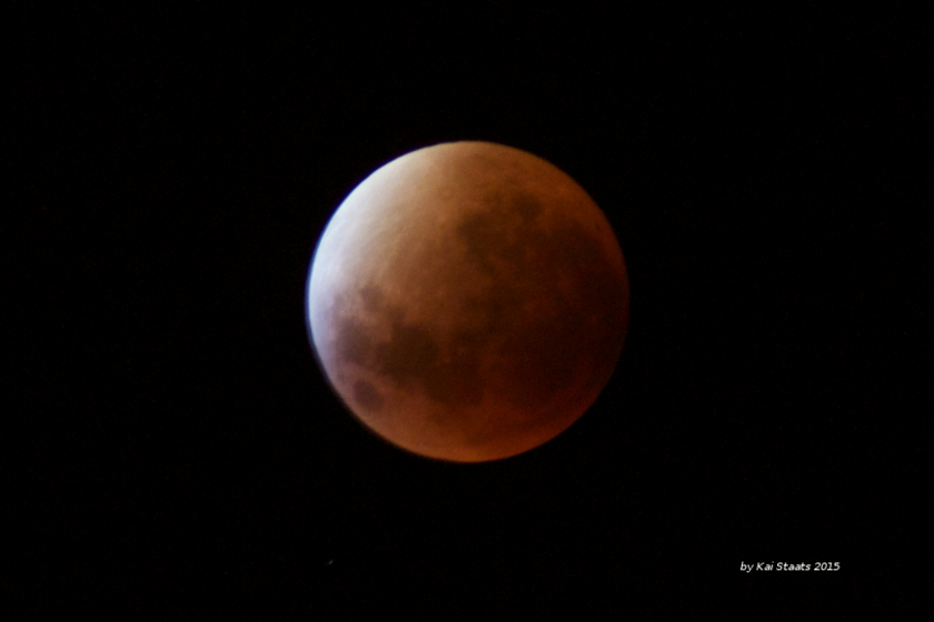 Lunar Eclipse from South Africa