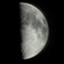 The moon from Mendoza, Argentina