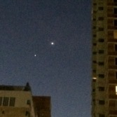 Mars, Jupiter and Venus 42 Street NYC