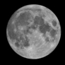 Full moon in February