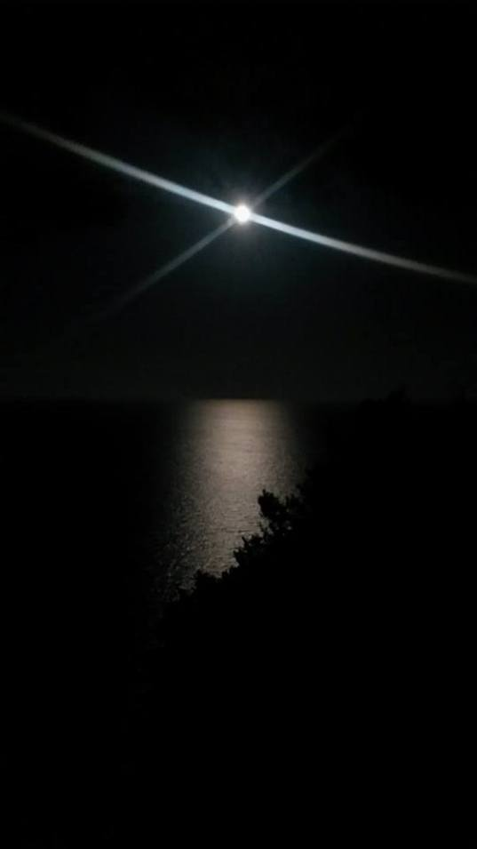 Full Moon in the Late Summer