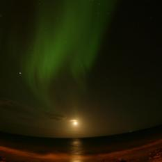Lights over Keflavik
