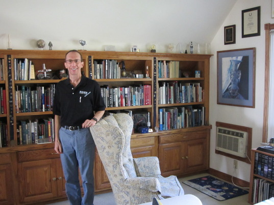 Dawn Mission's Marc Rayman At Home
