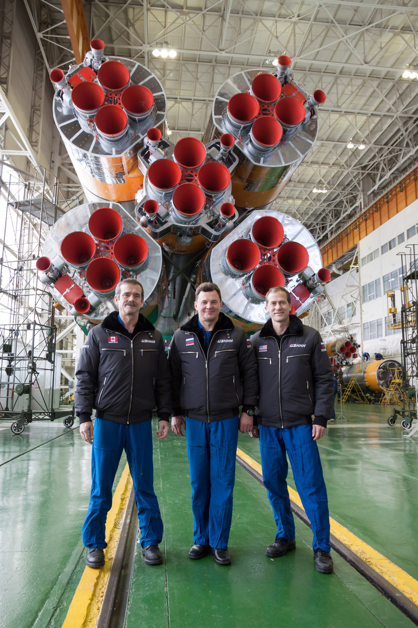 Expedition 34/35 crew