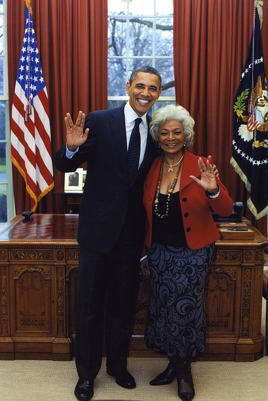 Nichelle Nichols and the Nerd-in-Chief