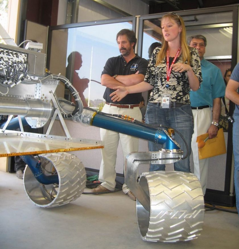 MSL Mobility System Engineer Jaime Waydo