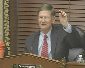 House Science, Space, and Technology Committee Chairman Lamar Smith