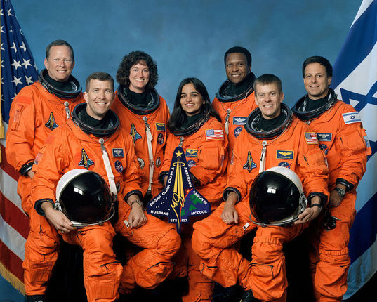 STS-107 Columbia Crew Picture