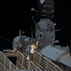 Spacewalker Alexander Misurkin