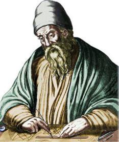 Euclid, a famous mathematician
