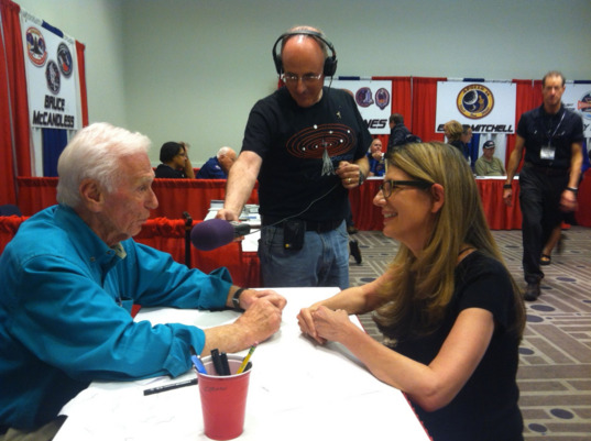 Gene Cernan Talks With Laura Danly