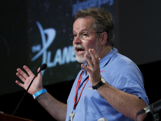 Rob Manning speaks at Planetfest 2012