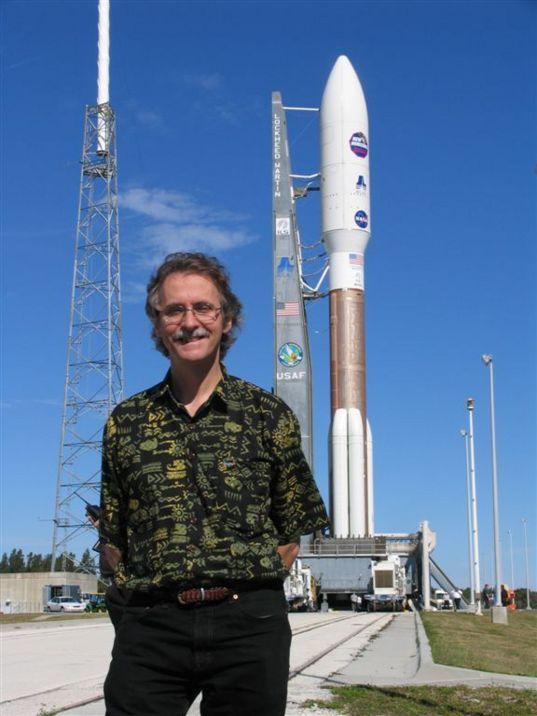 John Spencer and the New Horizons rocket