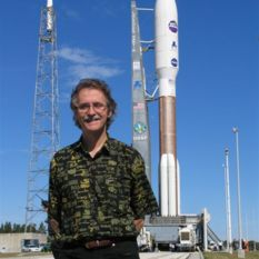 John Spencer and the New Horizons rocket
