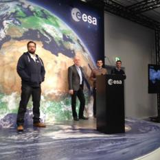 ESA Rosetta and Philae team at European Space Operations Centre, Nov. 10, 2014