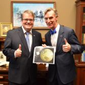 John Culberson and Bill Nye (and Europa)