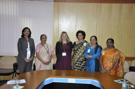 Visiting ISRO