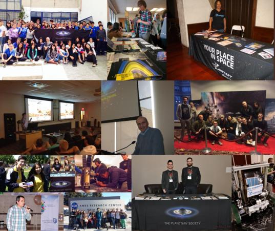 Volunteer activities around the world