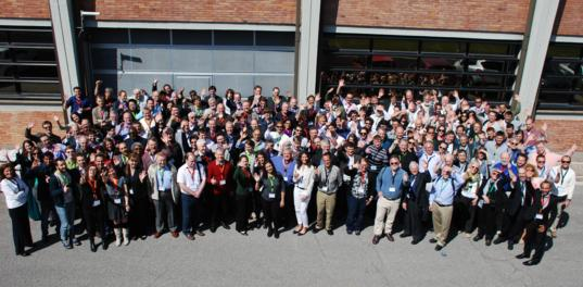 Some of the attendees at the 2015 Planetary Defense Conference in Frascati, Italy