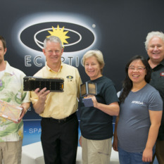 LightSail Team with AIAA 2015 Small Satellite Mission of the Year Award