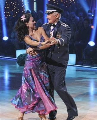 Buzz Aldrin and Ashly Costa on 'Dancing with the Stars'