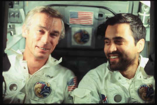 Harrison Schmitt and Gene Cernan, Apollo 17