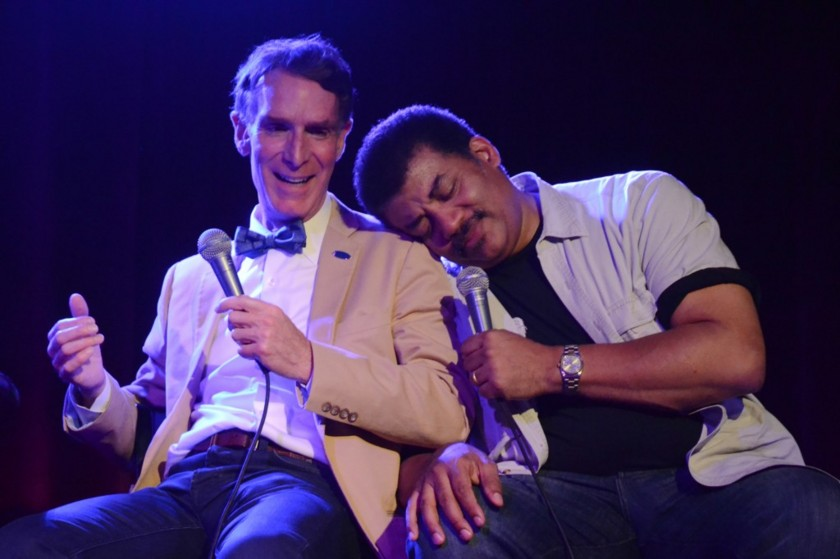 Bill Nye and Neil deGrasse Tyson