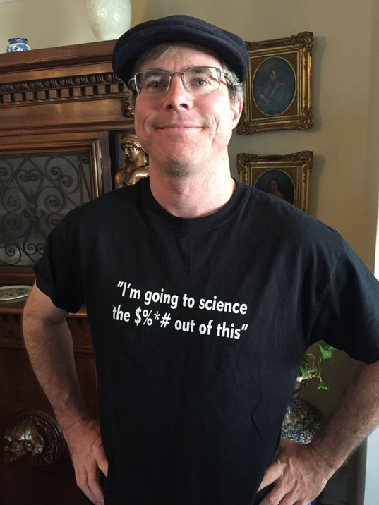 Andy Weir, author of