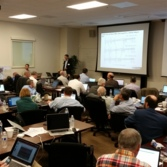 Mastcam-Z Preliminary Design Review meeting, October 2015