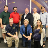 LightSail team at test readiness review